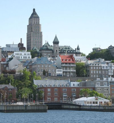 Vieux-Port de Québec, par Gilbert Bochenek / wikimedia *