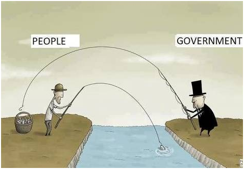 Government's legalized plundering / Image source: GoldCore