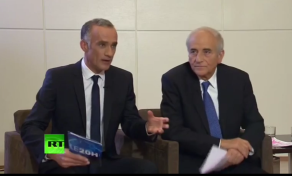 Russian President Vladimir Putin granted an interview to 2 French journalists / Screeshot from YouTube video