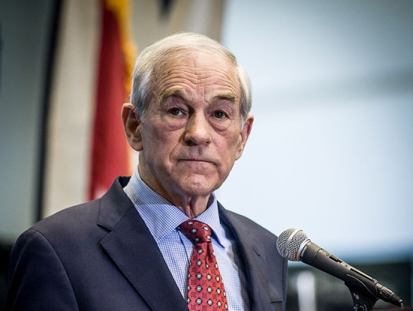 Ron Paul (2012) , photo by David Carlyon / wikimedia